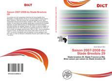 Bookcover of Saison 2007-2008 du Stade Brestois 29