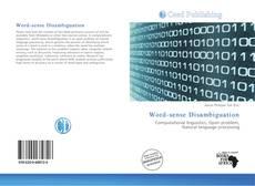 Bookcover of Word-sense Disambiguation