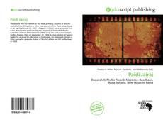 Capa do livro de Paidi Jairaj