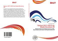 Bookcover of Saison 2011-2012 du Stade Brestois 29