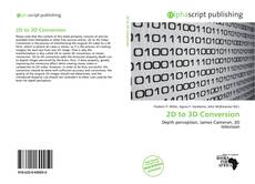 Buchcover von 2D to 3D Conversion