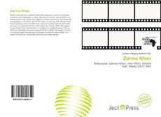 Bookcover of Zarine Khan