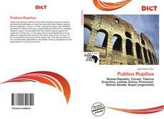 Bookcover of Publius Rupilius