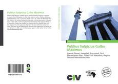 Bookcover of Publius Sulpicius Galba Maximus