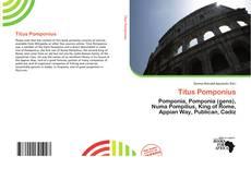 Portada del libro de Titus Pomponius