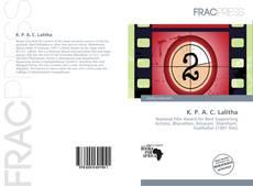 Buchcover von K. P. A. C. Lalitha