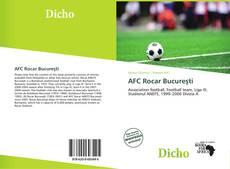 Обложка AFC Rocar Bucureşti