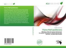 Fiona Hall (politician) kitap kapağı