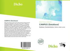 Bookcover of CAMPUS (Database)
