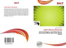 Buchcover von John Davis (Pianist)