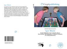 Igor Matić kitap kapağı