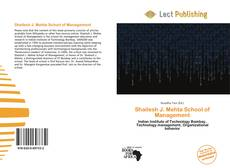 Buchcover von Shailesh J. Mehta School of Management