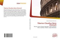 Bookcover of Tiberius Claudius Nero (Consul)