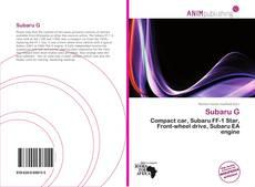 Subaru G的封面