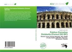 Bookcover of Publius Cornelius Dolabella (Consul 283 BC)