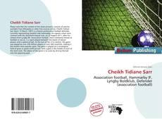 Couverture de Cheikh Tidiane Sarr