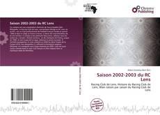 Borítókép a  Saison 2002-2003 du RC Lens - hoz