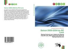 Borítókép a  Saison 2003-2004 du RC Lens - hoz