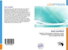 Bookcover of Jean Lambert