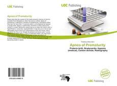 Bookcover of Apnea of Prematurity