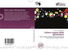 Buchcover von Subaru Legacy (fifth generation)