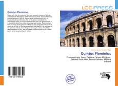 Bookcover of Quintus Pleminius