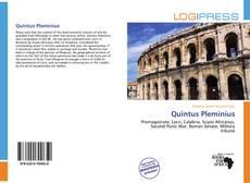 Buchcover von Quintus Pleminius