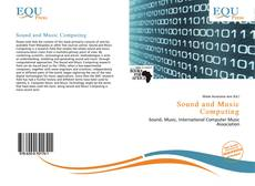 Copertina di Sound and Music Computing