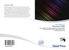 Buchcover von Verena Faißt