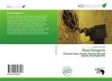 Capa do livro de Rose Gregorio