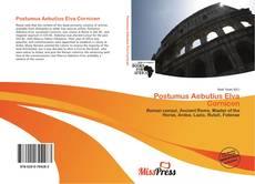 Bookcover of Postumus Aebutius Elva Cornicen