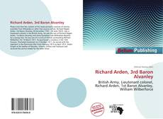 Bookcover of Richard Arden, 3rd Baron Alvanley