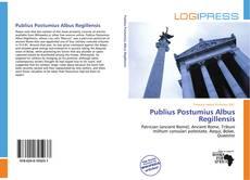 Bookcover of Publius Postumius Albus Regillensis