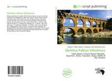 Quintus Fabius Vibulanus的封面
