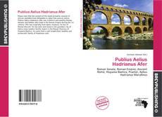 Bookcover of Publius Aelius Hadrianus Afer
