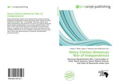 Buchcover von Henry Clinton (American War of Independence)