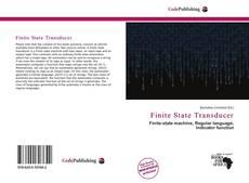 Bookcover of Finite State Transducer
