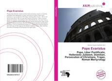 Bookcover of Pope Evaristus