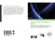 Buchcover von Henry Trevor, 21st Baron Dacre