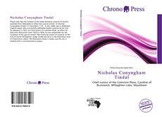Portada del libro de Nicholas Conyngham Tindal