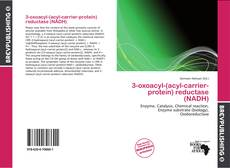 Обложка 3-oxoacyl-(acyl-carrier-protein) reductase (NADH)