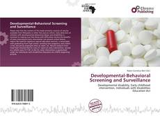 Bookcover of Developmental-Behavioral Screening and Surveillance