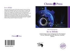 Bookcover of In re Bilski
