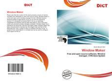 Copertina di Window Maker