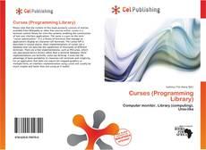 Capa do livro de Curses (Programming Library)