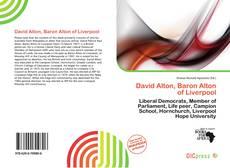 Borítókép a  David Alton, Baron Alton of Liverpool - hoz