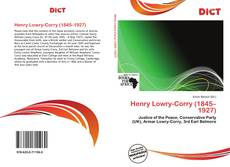 Bookcover of Henry Lowry-Corry (1845–1927)