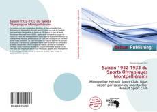 Bookcover of Saison 1932-1933 du Sports Olympiques Montpelliérains