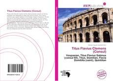 Bookcover of Titus Flavius Clemens (Consul)