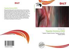 Bookcover of Toyota Corona EXiV